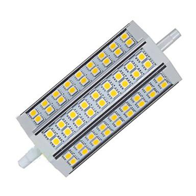 900lm R7S Dekorations Lys T 54LED LED perler SMD 5050 Dekorativ Varm hvit / Kjølig hvit 85-265V