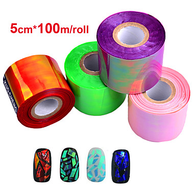 1roll Nail Art klistremerke 3D Negle Stickers makeup Cosmetic Nail Art Design