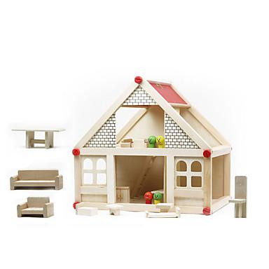 voordelige 3D-puzzels-Doen alsof-spelletjes / Educatief speelgoed Huis Noviteit Hout Meisjes Geschenk