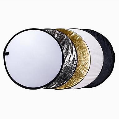 110 cm 43 inch 5 in 1 draagbare opvouwbare inklapbare multi disc light reflector kit voor studio. Black Bedroom Furniture Sets. Home Design Ideas