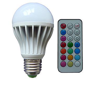 B22 E26/E27 LED Küre Ampuller A80 3 led Yüksek Güçlü LED RGB Kısılabilir Uzaktan Kumandalı Dekorotif AC 85-265