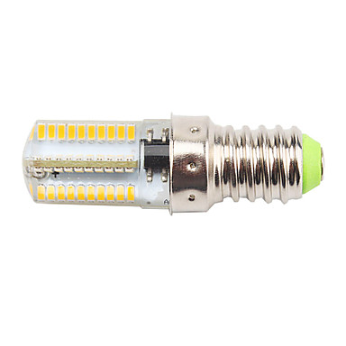 1pc 4 W 400 lm E14 Bombillas LED de Mazorca T 80 Cuentas LED SMD 3014 Regulable / Decorativa Blanco Cálido / Blanco Fresco 220-240 V / 110-130 V / 1 pieza / Cañas