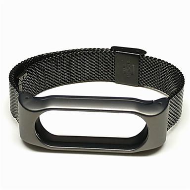 Klokkerem til Mi Band 2 Xiaomi Milanesisk rem Metall / Rustfritt stål Håndleddsrem