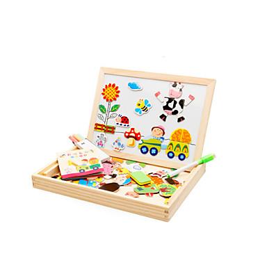 voordelige 3D-puzzels-Muwanzi Magnetisch speelgoed / Legpuzzel / Educatief speelgoed Vogel / Varken / Rozen Dieren / Noviteit Hout Cartoon Geschenk