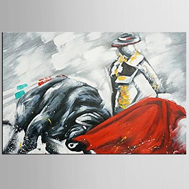 käsinmaalattu abstrakti / eläin ripustettu öljymaalaus, moderni tyyli yksi paneeli kangas öljymaalaus