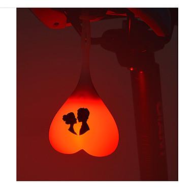 自転車用ライト 後部バイク光 安全ライト LED サイクリング 防水 小型 ボタン電池 ルーメン バッテリー レッド オレンジ サイクリング バイク用-ROCKBROS