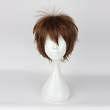 Cosplay Parykker Cosplay Cosplay Anime / Videospill Cosplay-parykker 35CM CM Varmeresistent Fiber Herre Dame