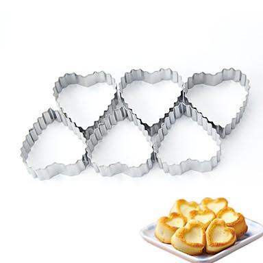 Ferramentas bakeware Metal Natal / Aniversário / Ano Novo Biscoito 1pç