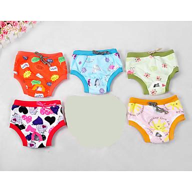 Perro Pantalones Ropa para Perro Caricatura Arco iris Felpa Disfraz Para mascotas Mujer Bonito Casual/Diario