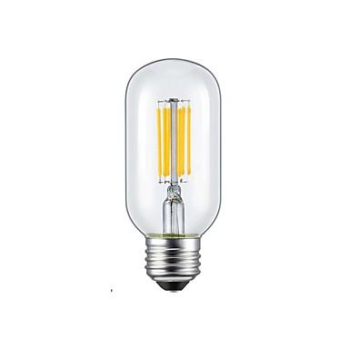 abordables Ampoules électriques-1pc 5 W Ampoules à Filament LED 2300/6000 lm E26 / E27 6 Perles LED COB Blanc Chaud Blanc Froid 85-265 V / 1 pièce / RoHs