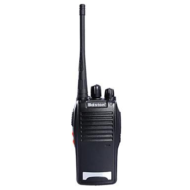 billige Walkie-talkies-baiston bst-688 5W 16-kanals 400.00-470.00mhz walkie talkie - svart