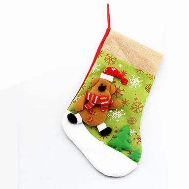 1 stk julepynt til julebordet dekorasjon