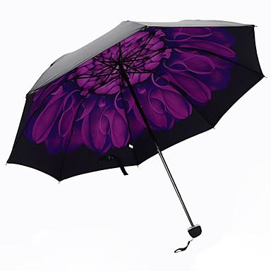 Lilla Sammenfoldet paraply Parasoll Plastic Barnevogn