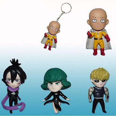 Anime Action-Figuren Inspiriert von One Punch Man Cosplay PVC 7 CM Modell Spielzeug Puppe Spielzeug