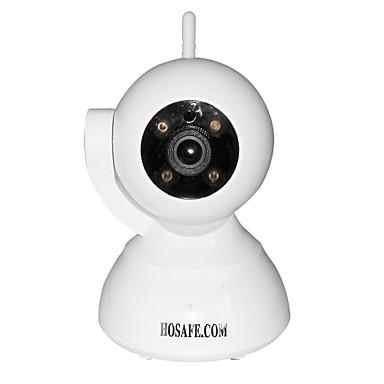 hosafe SV03 720p drahtlose Pan / Tilt IP-Kamera w / onvif / 4-Reihe IR-LED / Zwei-Wege sprechen / MCRO SD-Karte aufnehmen