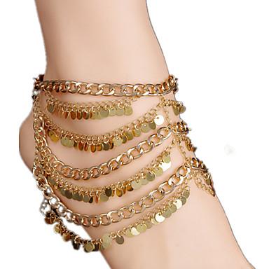 女性 アンクレット/ブレスレット 銅 合金 パンク 欧風 多層式 ジュエリー 用途 日常