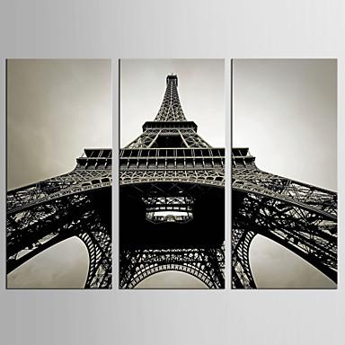 Canvas Set Kuuluisa Abstraktit maisemakuvat Classic European Style,3 paneeli Kanvas Pystysuora Tulosta Art Wall Decor For Kodinsisustus