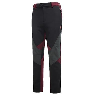 Miesten Softshell-housut Vedenkestävä Pidä lämpimänä Nopea kuivuminen Tuulenkestävä Ultraviolettisäteilyn kestävä Eristetty Säteilemätön