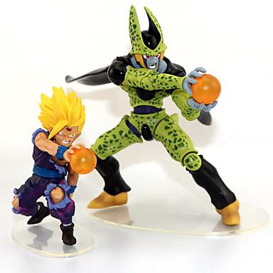 Anime Toimintahahmot Innoittamana Dragon Ball Son Gohan Anime Cosplay-Tarvikkeet kuvio Vihreä PVC