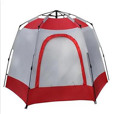 Soaring® 5-8 henkilöä Suojat ja pressut Teltta Kaksinkertainen teltta Yksi huone Automaattinen teltta Hyvin ilmastoitu Vedenkestävä Nopea