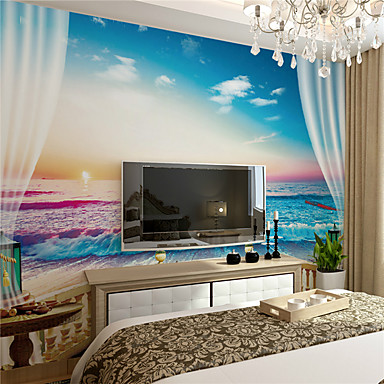 Art Deco Decoração para casa Moderna Revestimento de paredes, Tela de pintura Material adesivo necessário Mural, Cobertura para Paredes