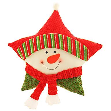 クリスマス向けおもちゃ クッション/枕 おもちゃ サンタスーツ Elk 雪だるま 調度品 3 小品