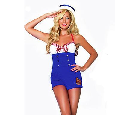 Marinar / Costume de carieră Costume Cosplay / Costume petrecere Pentru femei Halloween / Carnaval Festival / Sărbătoare Costume de