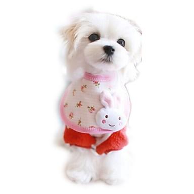 Kissa Koira Solmio/Rusetti Koiran vaatteet Rento/arki Sarjakuva Satunnainen väri