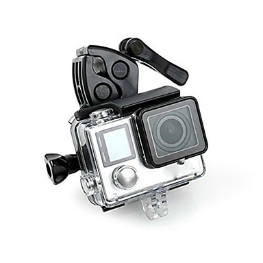Clip Screw Monopod Mount / Holder Adjustable Convenient For Action Camera All Gopro Gopro 5 Gopro 4 Black Gopro 4 Session Gopro 4 Silver