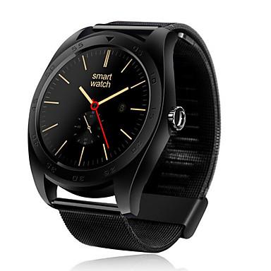 Reloj elegante para iOS / Android Monitor de Pulso Cardiaco / Calorías Quemadas / Radio FM / Pantalla Táctil / Podómetros Recordatorio de Llamadas / Seguimiento del Sueño / Recordatorio sedentaria