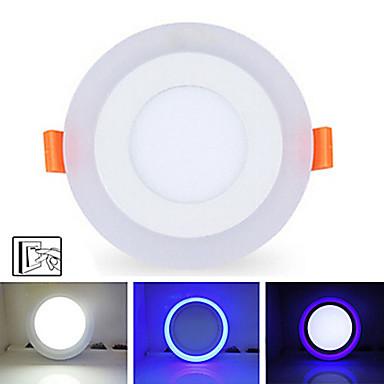 5500-6500 lm Kattovalaisimet 20 LED-helmet SMD 2835 Himmennettävissä / Koristeltu Neutraali valkoinen / Sininen 85-265 V / 1 kpl