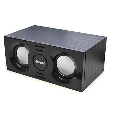 Tragbar Stereo Surround Sound Super Bass Bult-Mikrofon Speicherkarte unterstützt Unterstützung USB-Festplatte Bluetooth 4.0 3.5 mm AUX USB
