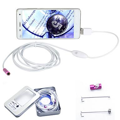 joyshine 3.5m 7mm 6led 2 in 1 android endoskoopin vesitiivis tarkastuskamera otg micro usb
