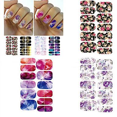 3D Nail Stickers / Nail Jewelry - PVC - Kukka / Punk - Sormi - 105*60mm - 1PCS