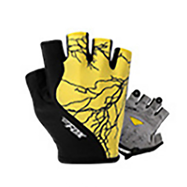 Sporthandschuhe Rasche Trocknung tragbar Atmungsaktiv Stoßfest Fingerlos Maschen Lycra Radsport / Fahhrad Unisex