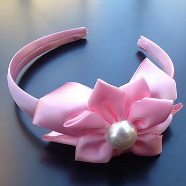 Damen Künstliche Perle Stoff Kopfschmuck-Hochzeit Besondere Anlässe Stirnbänder Blumen 1 Stück