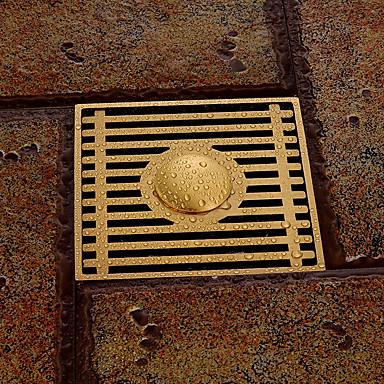 蛇口アクセサリー - 優れた品質 - コンテンポラリー 真鍮 床ドレン - フィニッシュ - アンティーク真鍮