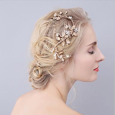 alloy hiukset leikkeen headpiece häät puolue tyylikäs naisellinen tyyli