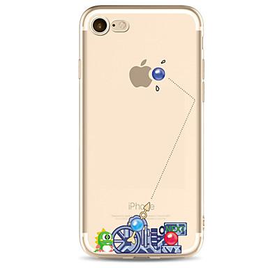 ケース 用途 Apple iPhone X iPhone 8 iPhone 6 iPhone 7 Plus iPhone 7 超薄型 パターン バックカバー パンク ソフト TPU のために iPhone X iPhone 8 Plus iPhone 8 iPhone 7