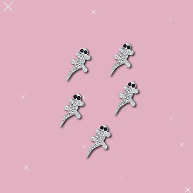 10 Kynsien korut Muut koristeet Hedelmä Kukka Abstrakti Klassinen Cartoon Lovely Häät Punk Päivittäin Hedelmä Kukka Abstrakti Klassinen