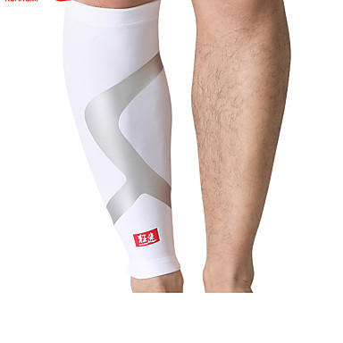レッグスリーブ / 膝用サポーター / 太ももブレース のために レジャースポーツ / バドミントン / ランニング 男女兼用 暖かい / 熱 / 高通気性 / 保護 スポーツ / アウトドア ナイロン ホワイト / ブラック