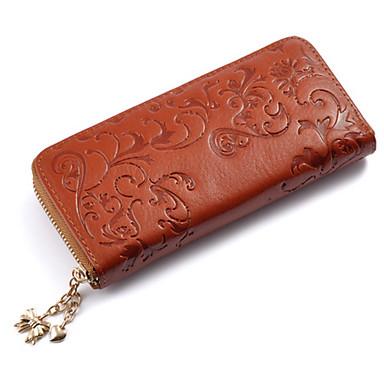 女性用 バッグ レザー 財布 のために 結婚式 / イベント/パーティー / フォーマル レッド / ライトブラウン / ネービーブルー