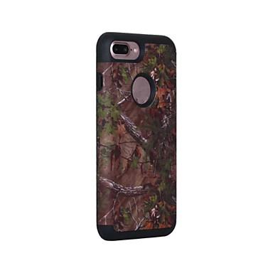 Capinha Para Apple iPhone 7 / iPhone 7 Plus / iPhone 6 Antichoque / Anti-poeira Capa Proteção Completa Sólido Rígida Silicone para iPhone 7 Plus / iPhone 7 / iPhone 6s Plus