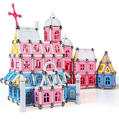 Magnetsticks Magnetische Bauklötze Magnetische Bau-Sets Bildungsspielsachen Spielzeuge Architektur Neuartige Jungen Mädchen 1 Stücke