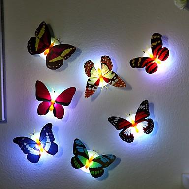 7 kleuren veranderende vlinder led-nachtlampje lamp van hoge kwaliteit