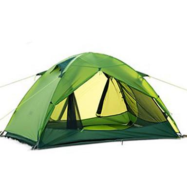 Naturehike 2 personer Telt Enkelt camping Tent Utendørs Brette Telt Bærbar / Regn-sikker / Velventilert til Jakt / Vandring / Camping
