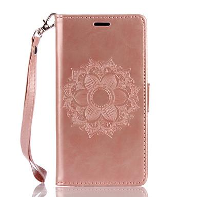 wiko lenny3 lenny2 puレザー素材デュラフラワーパターン蝶の電話ケース