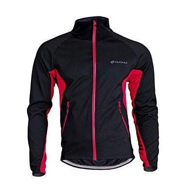Nuckily Unisexo Jaqueta para Ciclismo Moto Camisa / Roupas Para Esporte / Blusas Térmico / Quente, A Prova de Vento, Respirável Retalhos