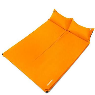 Aufgeblasene Matte Rechteckiger Schlafsack Einzelbett(150 x 200 cm) 10 HohlbaumwolleX75 Camping Reisen Drinnen Gut belüftet Wasserdicht