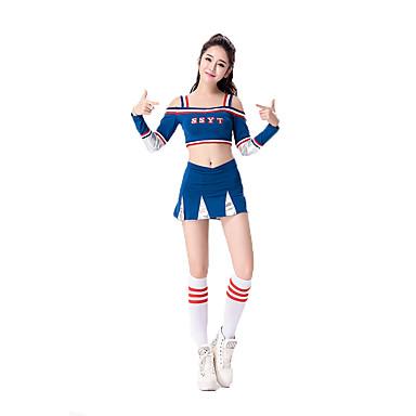 Schüler/Schuluniform Karriere Kostüme Cosplay Kostüme Party Kostüme Frau Fest/Feiertage Halloween Kostüme Blau Rot Halloween Karneval
